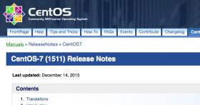 CentOS 7.2 (1511) LAMPサーバインストールメモ【CentOS7.2.1511+Apache+MySQL+PHP】